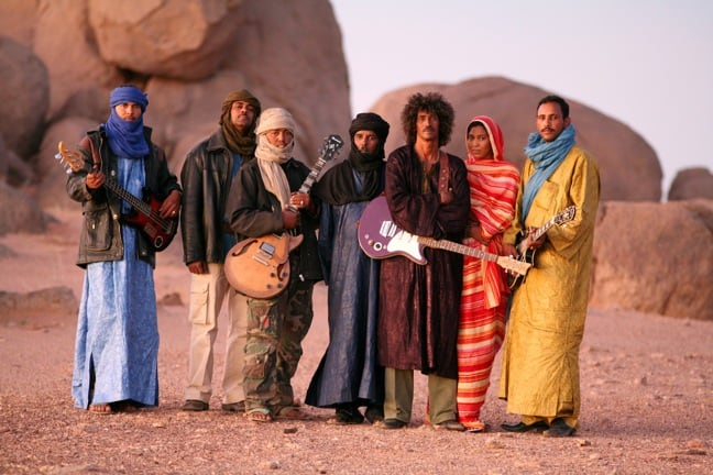 Tinariwen photo by Thomas Dorn