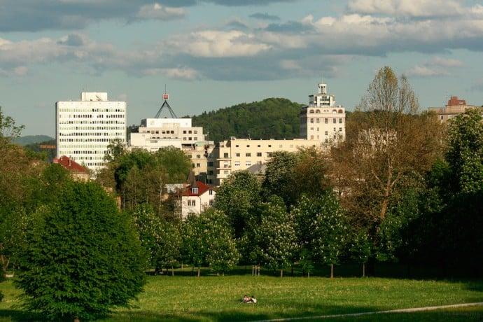 Ljubljana Slovenia - Tivoli Park
