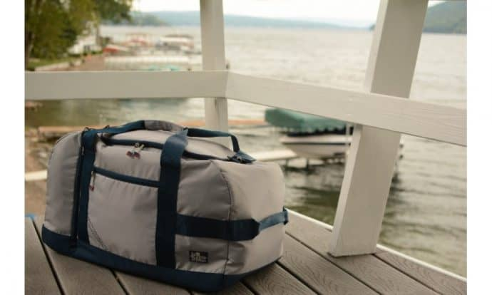 Travel Essentials: Sailor Bags Silver Spinnaker Cruiser Duffel