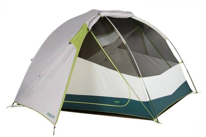 Travel Essentials: Kelty Trail Ridge 4 tent with footprint