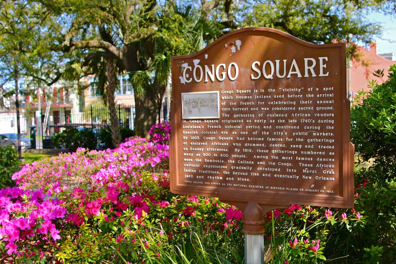 Congo Square New Orleans: the Birthplace of American Culture