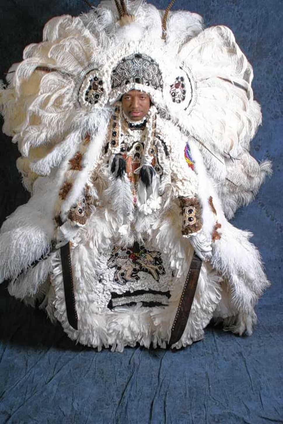 Treme New Orleans- Big Chief Donald Harrison Jr via