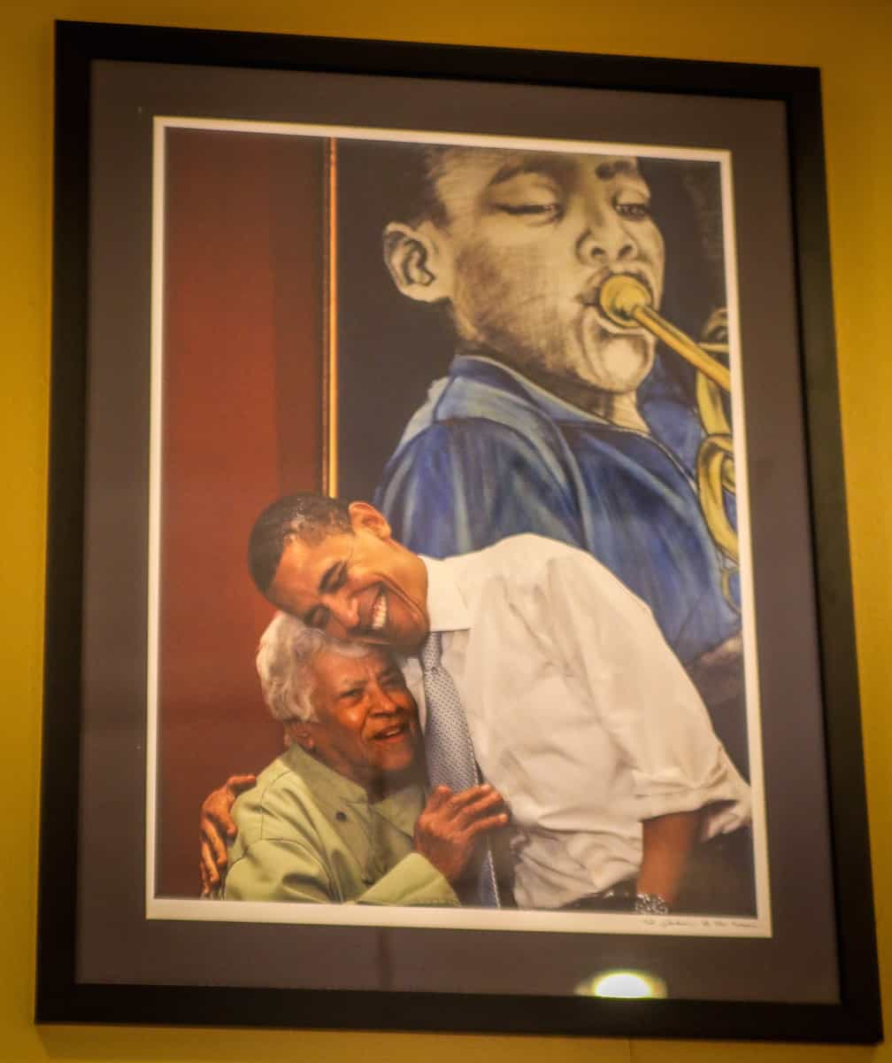 Treme New Orleans: Leah Chase With President Barack Obama