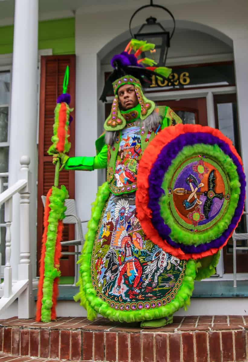 Treme New Orleans: Spy Boy Dow Edwards Porch