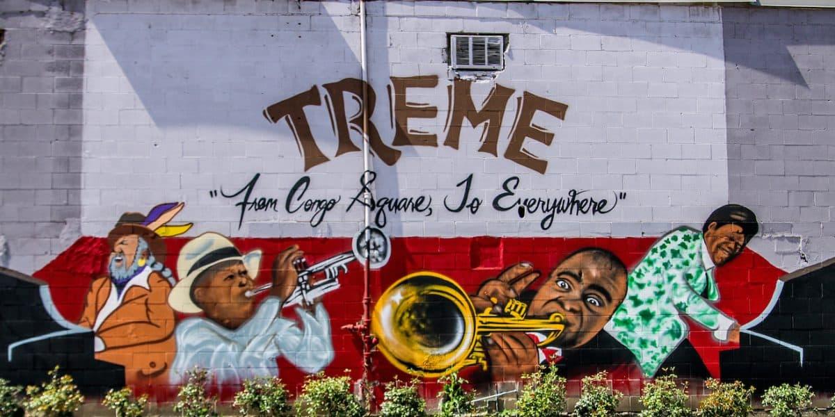 Treme New Orleans Street art