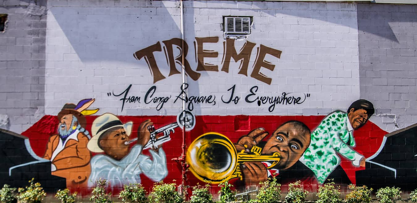 Treme New Orleans Street art
