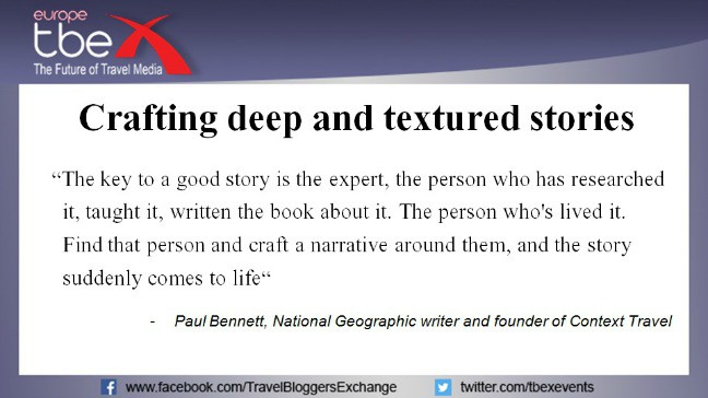 Crafting deep and textured stories using journalism skills