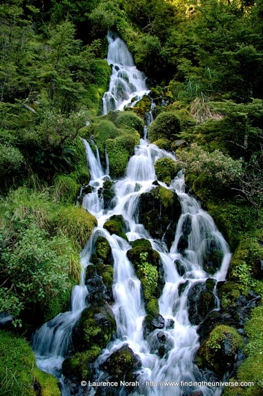 Waterfall in Tongariro, New Zealdn