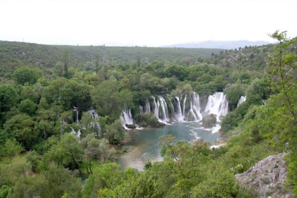 Kravice Waterfalls, photo by Matěj Baťha via Creative Commons