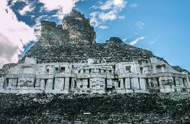 Mayan History -Xunantunich Ruins