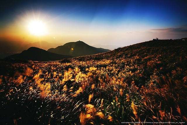 Taipei Attractions -Yangmingshan National Park, Taipei
