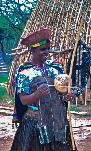 Learning About Zulu Musical Instruments at Simunye Zulu Lodge