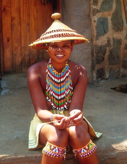 Zulu Woman In KwaZulu Natal, South Africa