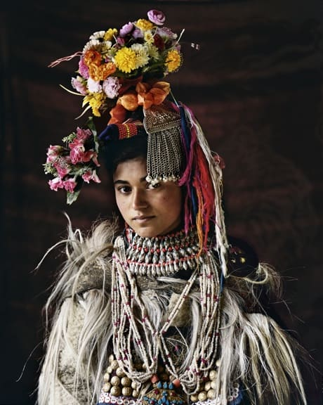 A Drokpa Woman photographed by Jimmy Nelson in Before They Pass Away
