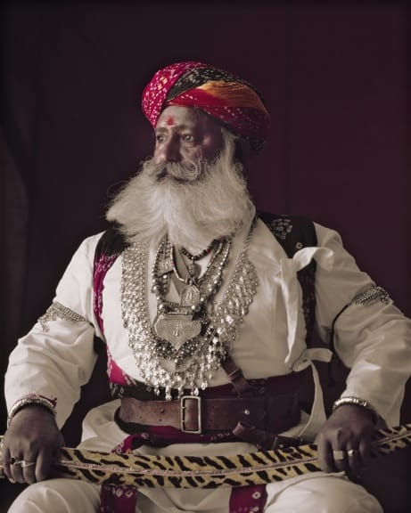 Rabari man photographed by Jimmy Nelson in Before They Pass Away