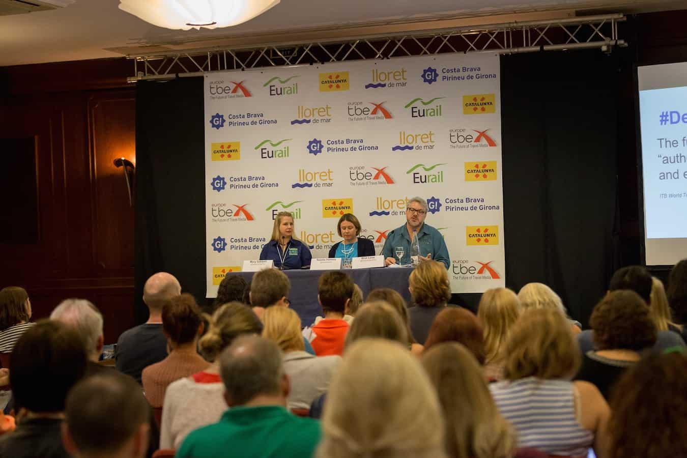 Bret Love & Mary Gabbett speak on Journalism Skills at TBEX Costa Brava