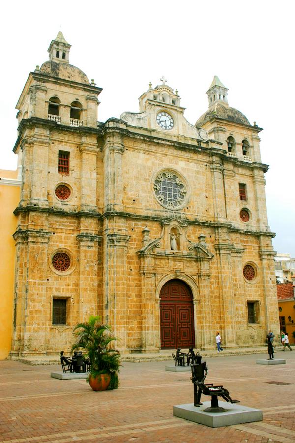 Santa Domingo Church, Cartagena Columbia