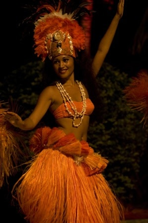 Tahitian Hula Dancer