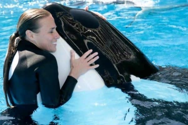 Whale Trainer Dawn Brancheau at Sea World