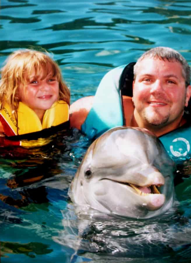 Alex Love Dolphin Encounter, Bahamas