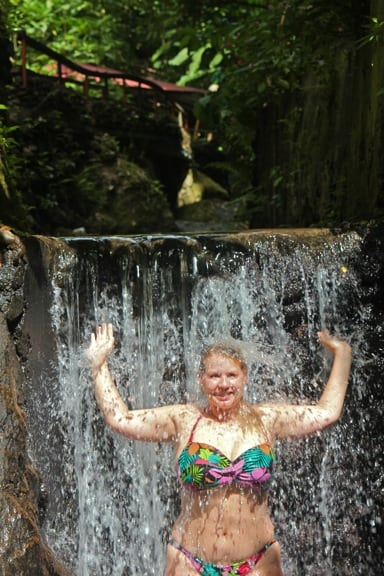 Screw's Sulphur Spa in Dominica