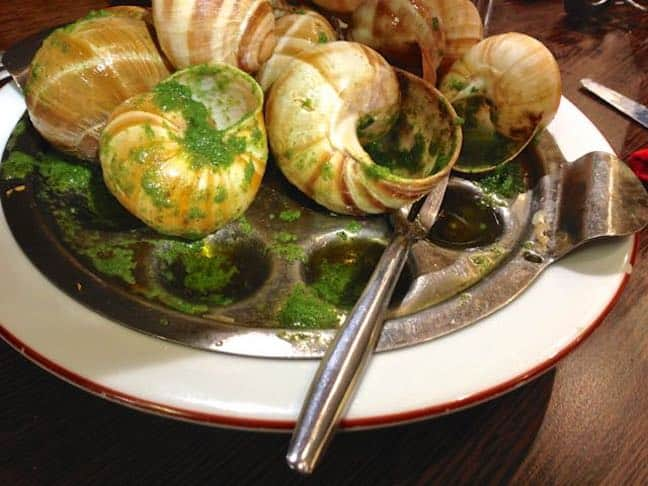 Foods that are Weird: Escargots de Bourgogne