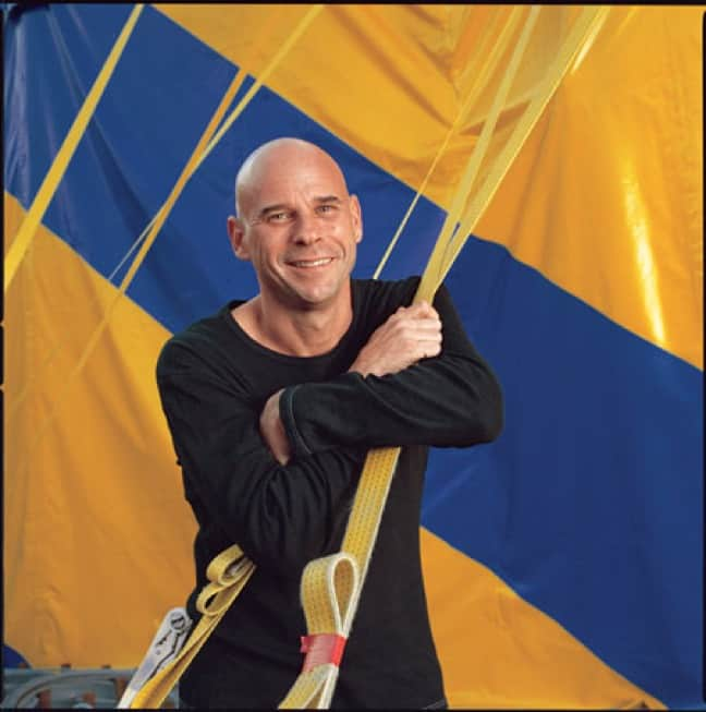 Guy Laliberté, At Home Under Cirque du Soleil's Big Top