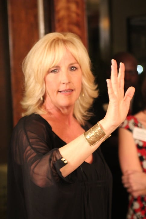 The Real Erin Brockovich speaks in Atlanta.