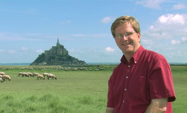 Rick Steves, Mount St Michel, France