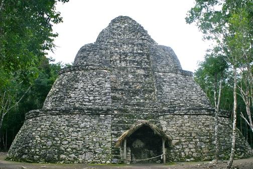 Coba Mexico Pyramid