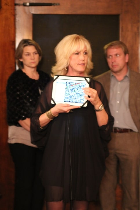 Erin Brockovich shows Peoples Reporting Registry map