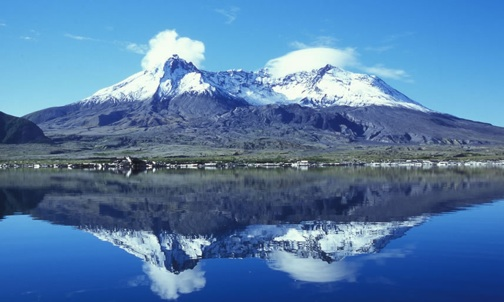 Mount St Helen reflection