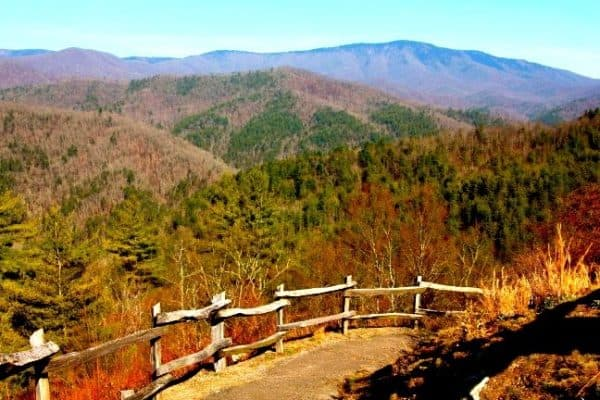 List of National Parks - Great Smoky Mountains, Cataloochee Valley Seen From a Scenic Overlook