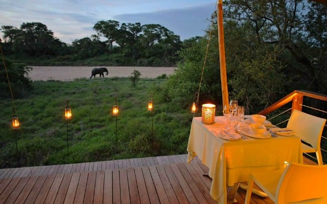 Glamping Tent in Africa -Ngala Tented Camp