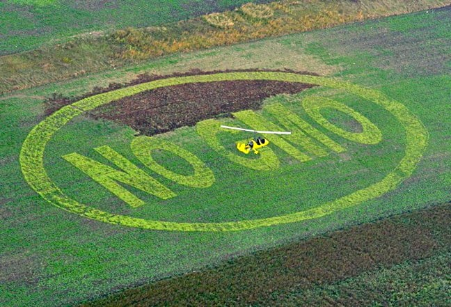 GMO Foods Protest