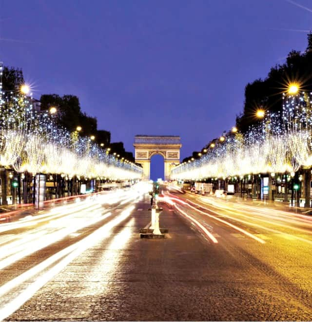 The energy needed to light the Champs-Elysees in Paris has dropped by 97% since 2006 because of the use of LEDs