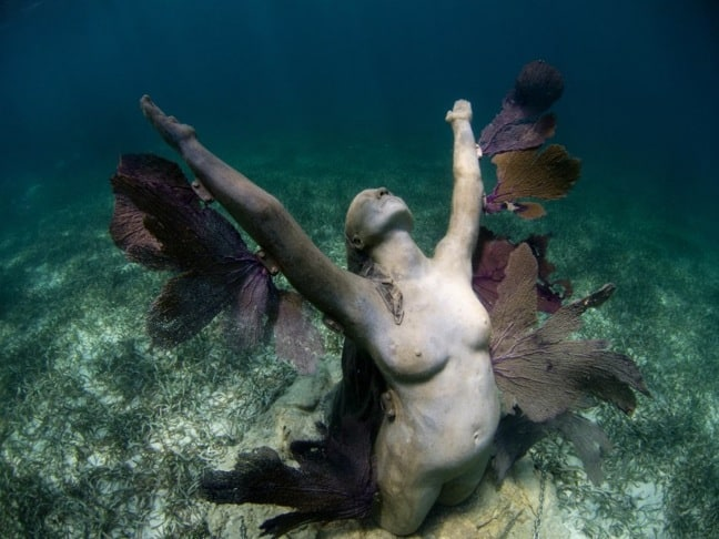 Underwater Museum in Cancun -Reclamation, a.k.a. The PHoenix,