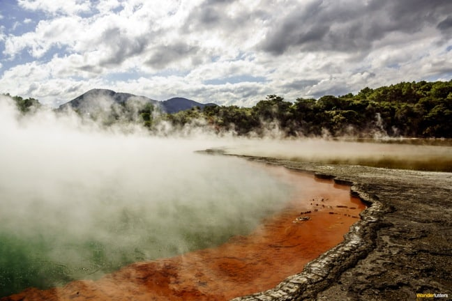 Champagne Pool at Wai-O-Tapu, New Zealand